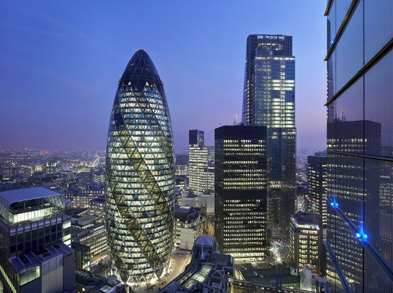 Grosvenor Sateon Secures the Gherkin