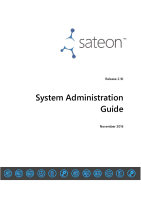 Sateon Advance System Administration Guide