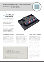 Sateon Advance Single-Blade Datasheet
