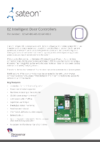 Sateon Enterprise EZ Intelligent Door Controller