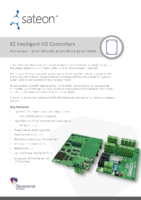 Sateon Enterprise EZ IO Controllers