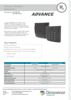 Advance – Datasheet – Readers