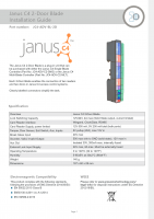 Installation Guide – Janus C4 2 Door Blade