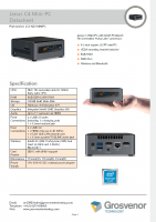 Datasheet – Janus C4 Mini-PC