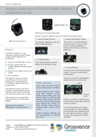 Installation Guide – RM-SP-4750-GT4