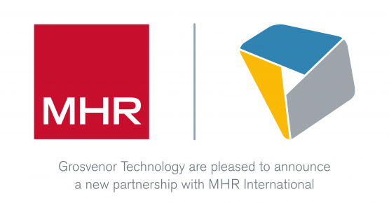 MHR and Grosvenor Technology partnership announcement